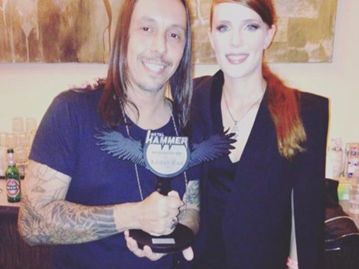 Lacuna Coil, Best International Band ai Metal Hammer Awards Germany 2016
