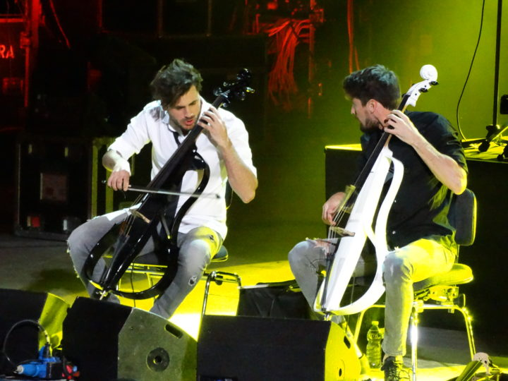 2Cellos, video di 'Thunderstruck' dal concerto all'Arena di Verona
