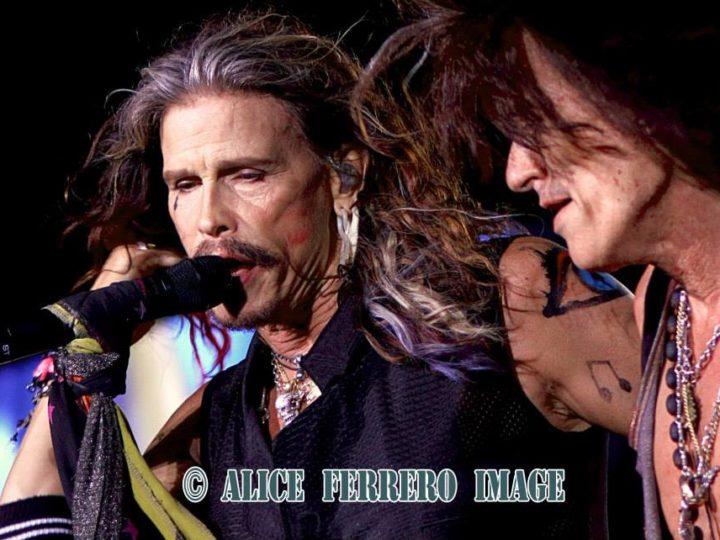 Aerosmith, concerto celebrativo al Fenway Park di Boston