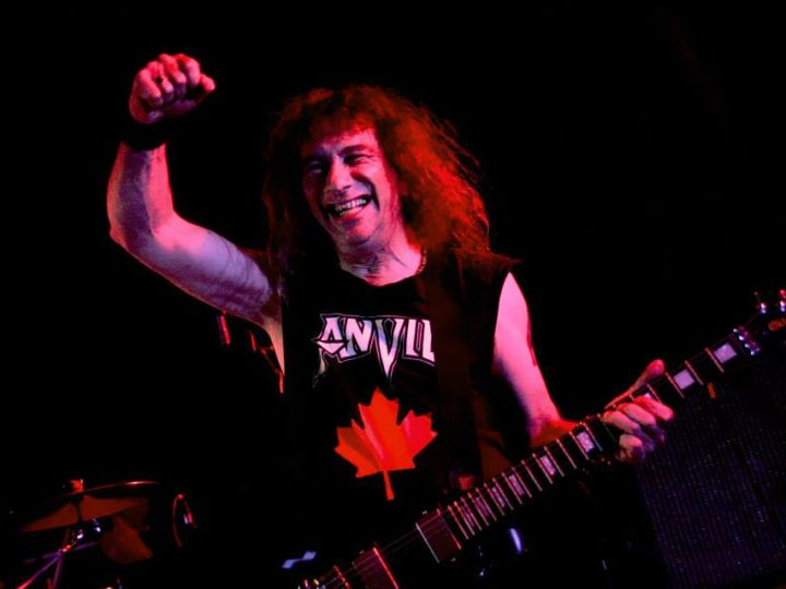 Anvil, a novembre live in San Marino