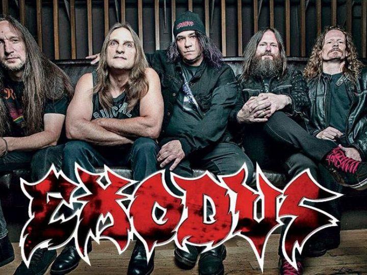 Exodus, tour in Europa questa estate