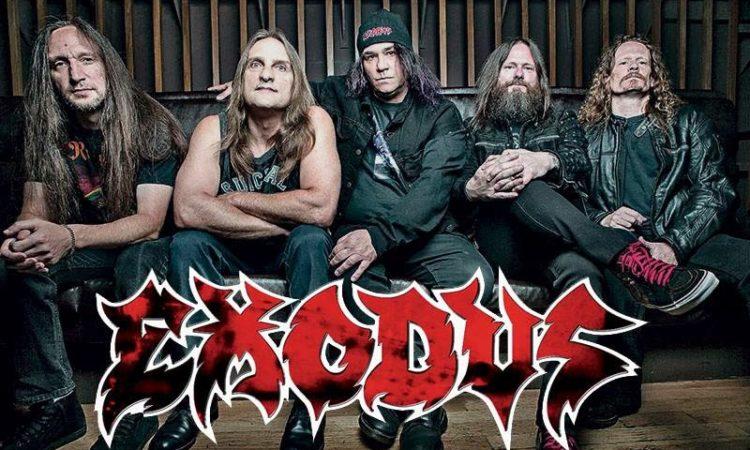 Exodus, niente disco nuovo sino al 2019
