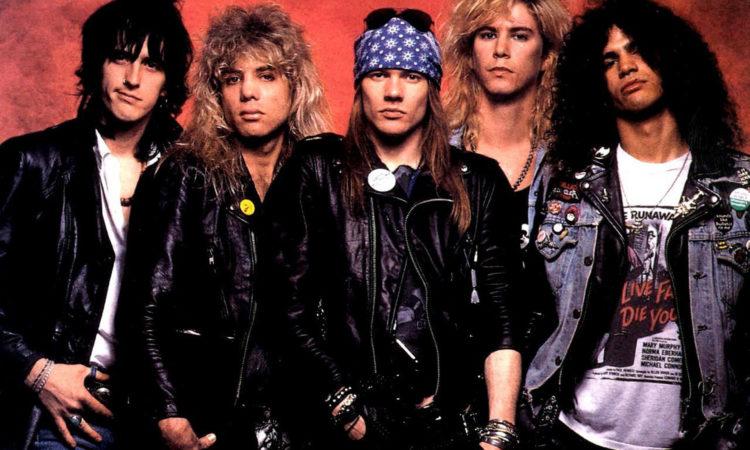 Guns N' Roses, il video inedito di  'It's So Easy'