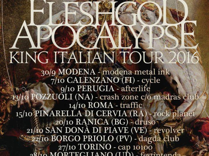 Fleshgod Apocalypse, al via il King Italian Tour 2016