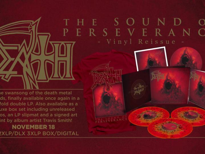 Death, il trailer ristampa di 'The Sound Of Perseverance' in vinile