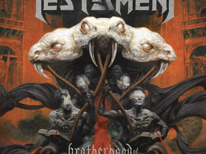 Testament, il lyric video di 'Brotherhood Of The Snake'