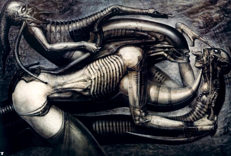 Eros e Thanatos : H.R.Giger