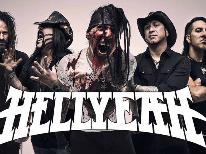 Hellyeah, tour in Europa