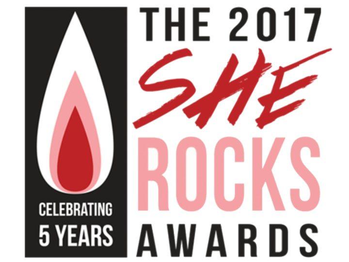 She Rocks Awards 2017, annunciati i nomi delle premiate