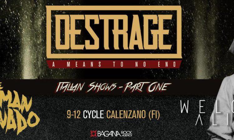 Metal Hammer Contest, vinci 2 biglietti per il concerto dei Destrage a Firenze