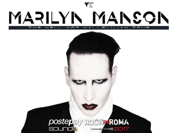 Marilyn Manson live @ Postepay Sound Rock In Roma, roma