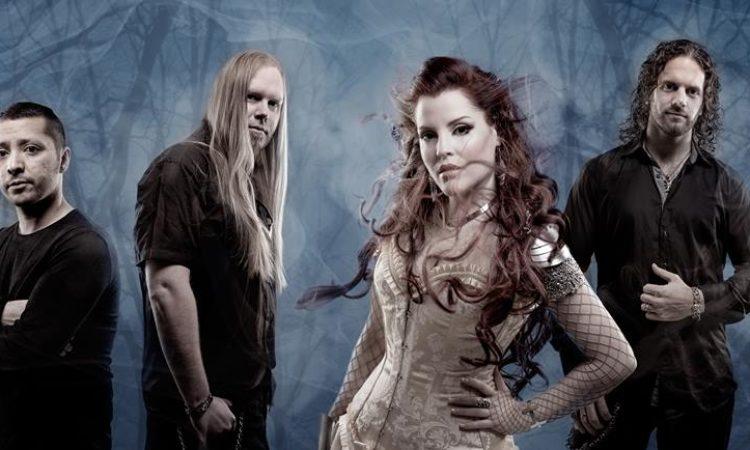 Sirenia, il guitar solo playthrough di 'Into The Night'