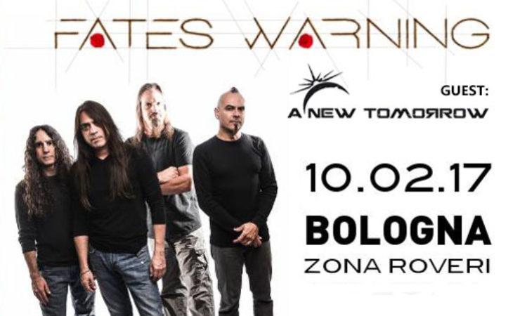 Metal Hammer Contest, vinci biglietti e cd per la data di Bologna Fates Warning + A New Tomorrow + Rain
