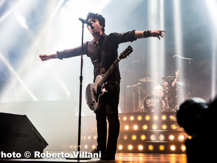 Green Day @Unipol Arena – Bologna (BO), 13 gennaio 2017