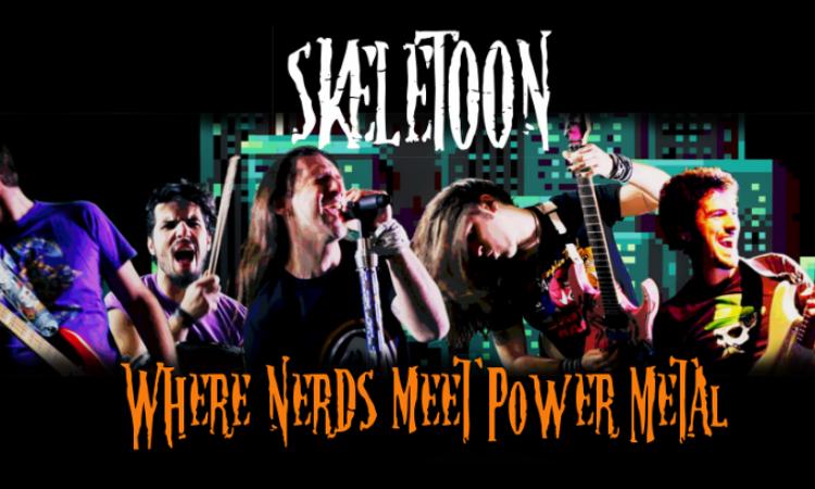 SkeleToon, ascolta 'Ticking Clock' in esclusiva su Metal Hammer