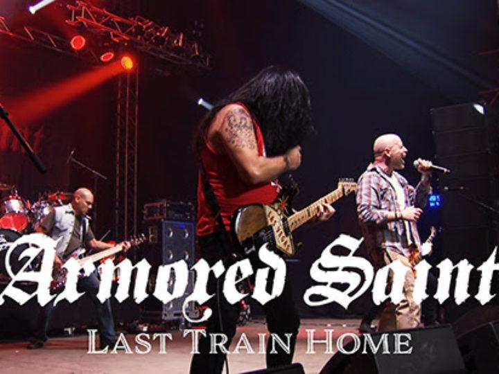 Armored Saint, l'esecuzione di 'Last Train Home' dall'imminente album live