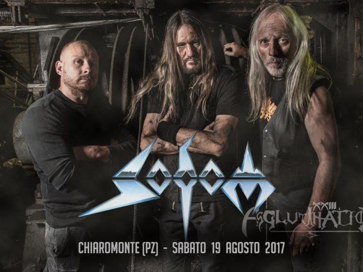 Sodom, la band si esibirà all'Agglutination Metal Festival 2017