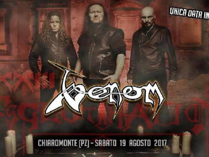 Veonom + In.Si.Dia and more  live @ XXIII Agglutination Metal Festival, Chiaromonte (PZ)