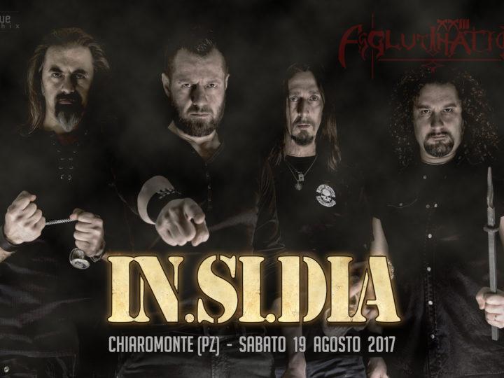 In.Si.Dia, la band si esibirà all'Agglutination Metal Festival