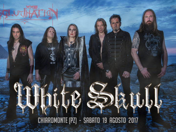 White Skull, la band sarà presente all'Agglutination Metal Festival
