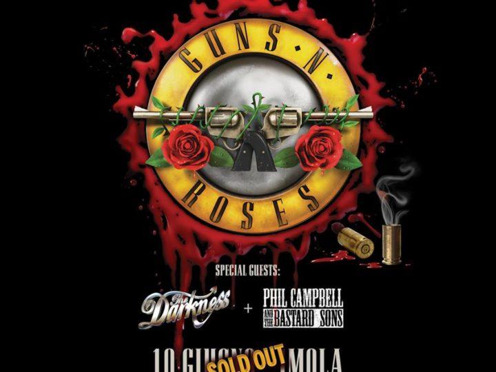 GUNS N' ROSES, Not In This Lifetime Tour  @ Autodromo Enzo e Dino Ferrari , Imola ( BO)