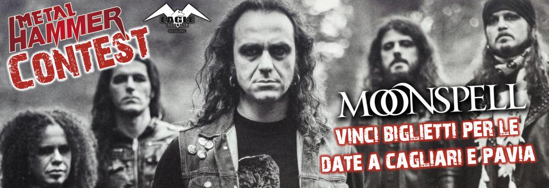 Moonspell, vinci i biglietti per le date di Cagliari e Pavia