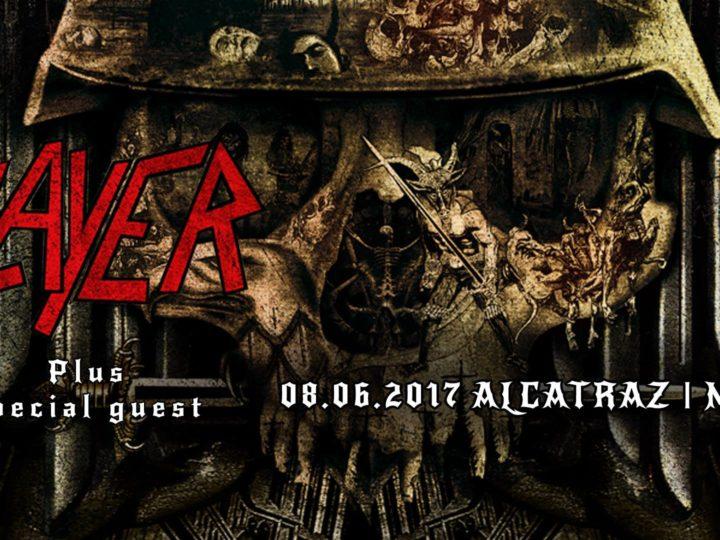 Slayer + guest @ live at Alcatraz, Milano