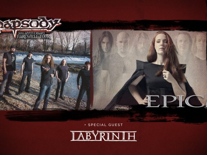Rhapsody + Epica +Labyrinth live @ Alcatraz, Milano