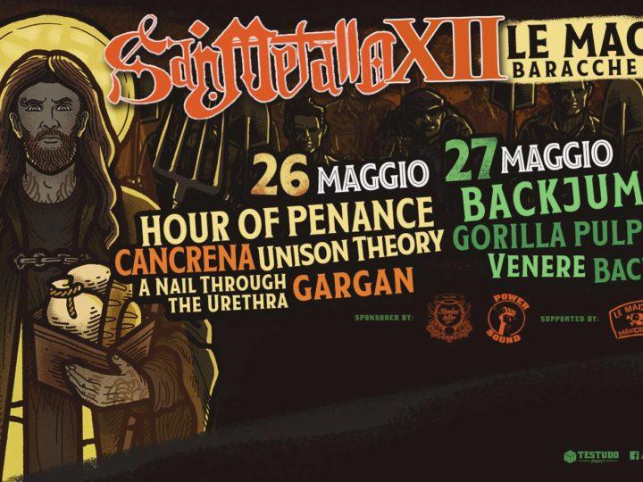 Hour Of Penance + Backjumper + Guests live @ San Metallo Fest XII, Le Macerie, Molfetta (BA)