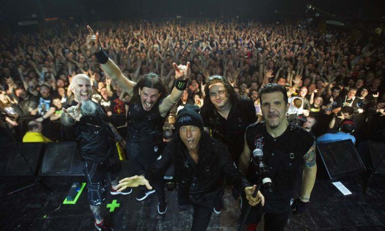 Anthrax, il video dal vivo di 'Madhouse'