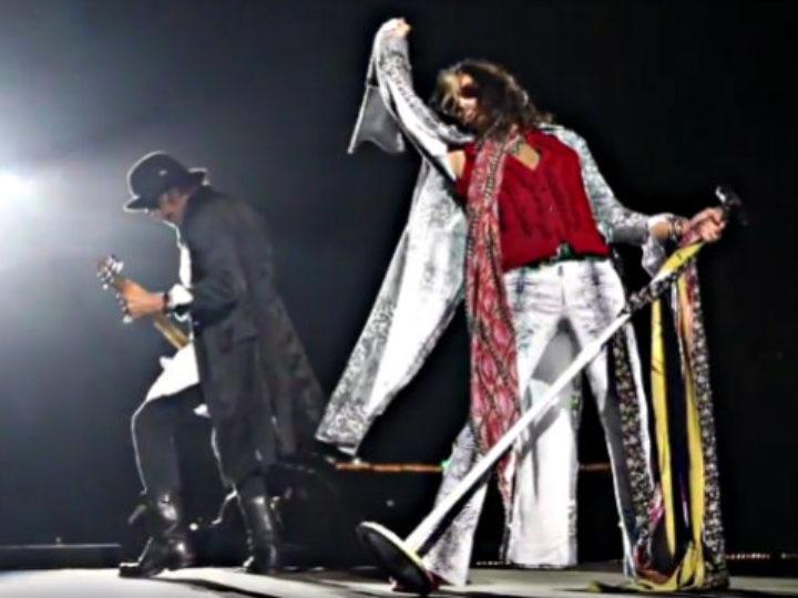 Aerosmith, video-riassunti dei concerti di Tel Aviv, Batumi e Mosca