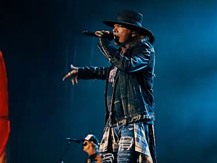 Guns N' Roses, la prima parte del video-riassunto del tour europeo