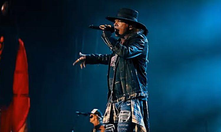 Guns N' Roses, la prima parte del video-riassunto del tour europeo