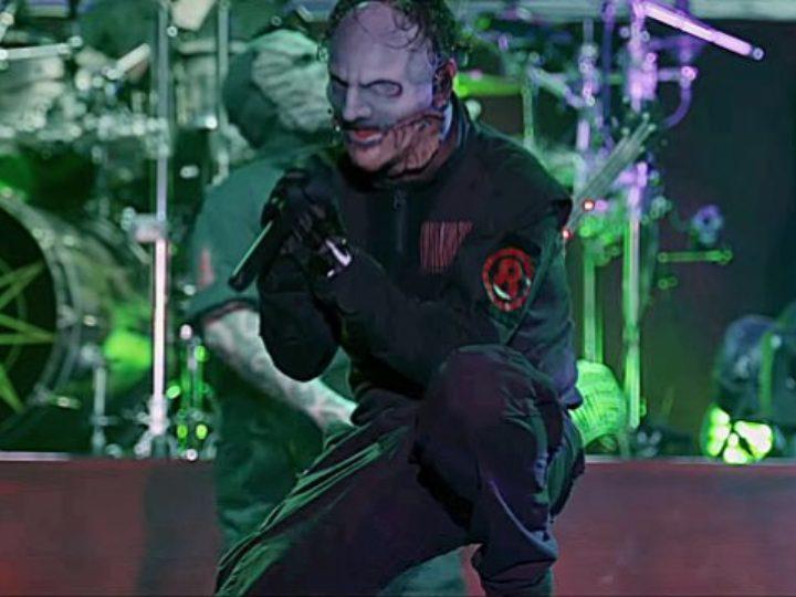 Slipknot, Corey Taylor completate le registrazioni di un album solista