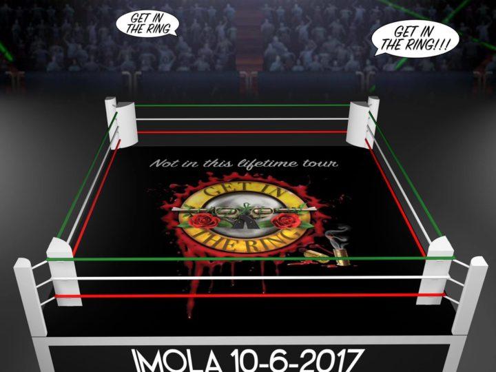 Guns N' Roses, partecipa alla coreografia 'Get In The Ring' al concerto di Imola