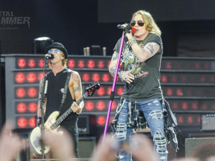 Guns N' Roses, nuova data in Italia nel 2018