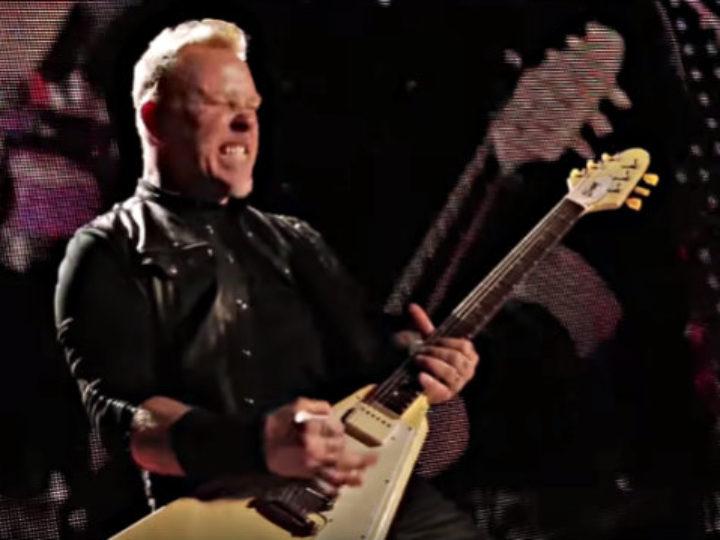 Metallica, l'esecuzione live di 'Now That We Are Dead'