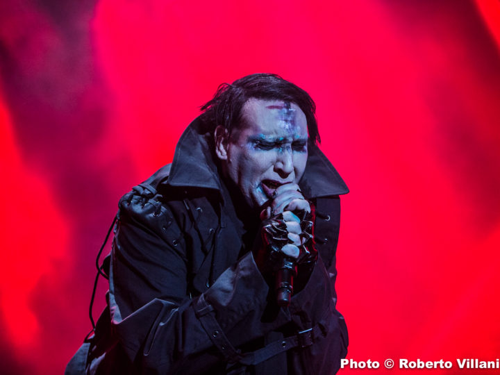 Marilyn Manson, collassa durante l'ultimo live in Texas