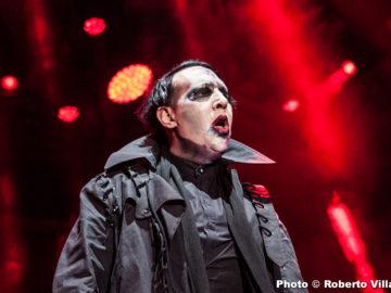 Marilyn Manson + The Charm The Fury @Castello Scaligero – Villafranca (VR), 26 luglio 2017