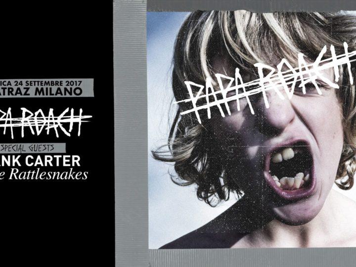 Papa Roach live @ Alcatraz, Milano