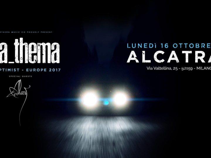 Anathema + Alcest live @ Alcatraz, Milano