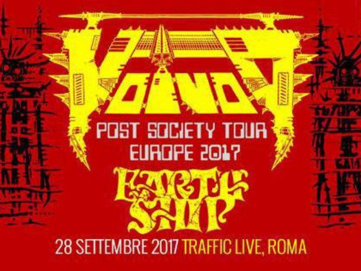 Voivod + Earth Ship live @ Traffic Live, Roma