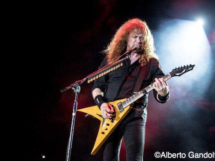 Megadeth, Dave Mustaine rivela di avere problemi di salute
