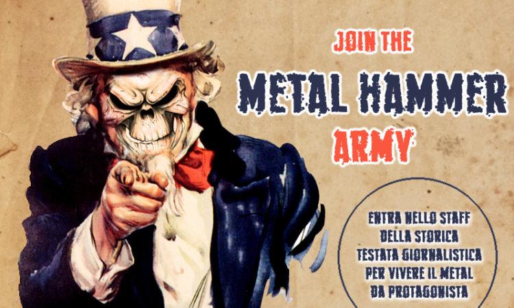 Metal Hammer, bando aperto per la selezione di nuovi collaboratori