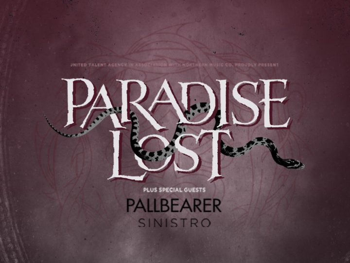 Paradise Lost + Pallbearer + Sinistro live @ Fontaneto d'Agogna (NO)