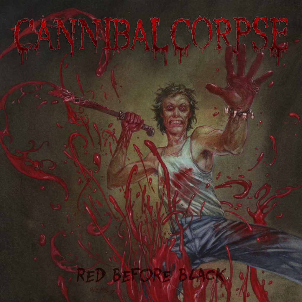 Cannibal Corpse - Red Before Black - Artwork