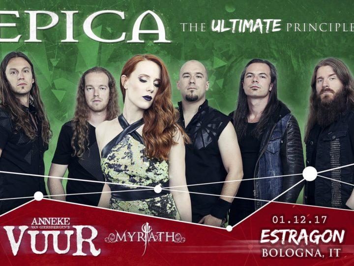 Epica + Vuur + Myrath live @ Estragon Club, Bologna