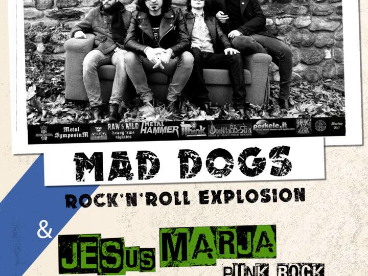 Mad Dogs + Jesus Marja live @ Grow Lab, Barletta