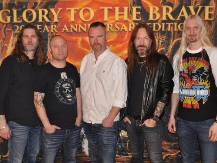 "Hammerfall, on line il video per il lancio  di ""Glory To The Brave – 20 Year Anniversary Edition"""