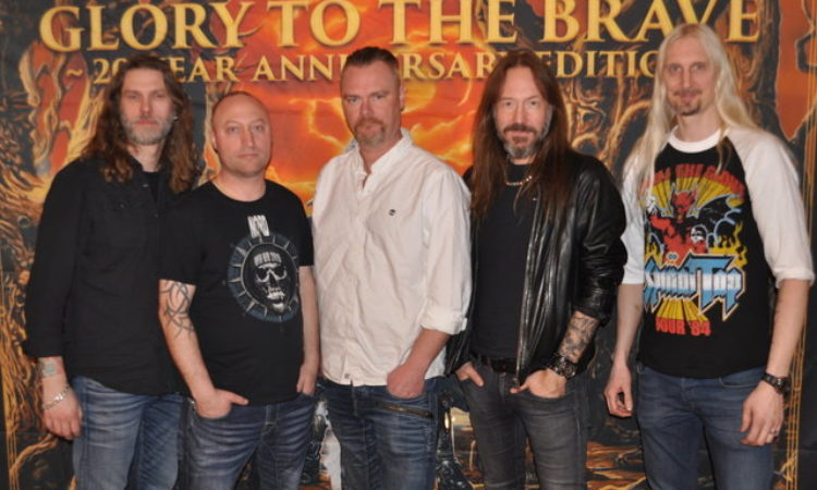 "Hammerfall, on line il video per il lancio  di ""Glory To The Brave – 20 Year Anniversary Edition"""